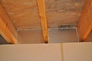 Floor insulation improves home comfort insulating the for Floor joist insulation